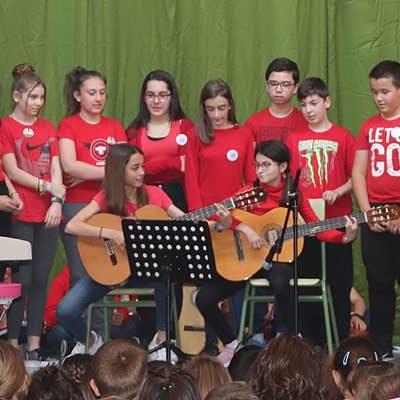 Más de 40 alumnos protagonizaron el I Concierto Santa Clara
