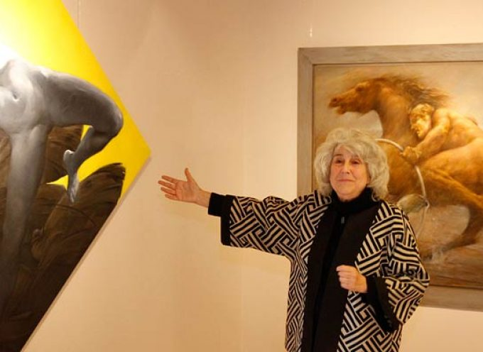Margarita Pamies expone `Symbolum´ en Las Tenerías hasta el 28 de abril
