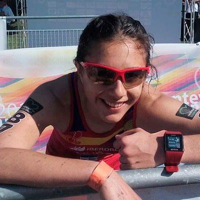 La cuellarana Marina Muñoz, convocada para el Campeonato del Mundo de Triatlón Cross