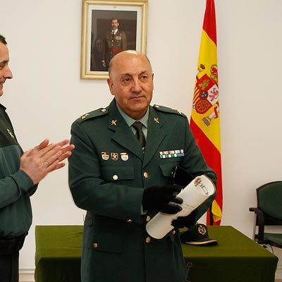 El capitán de la Guardia Civil de Cuéllar recibe la Cruz de Oficial de la Orden del Mérito Civil