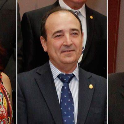 Nuria Fernández, Javier Hernanz y Luis Senovilla, candidatos a encabezar la lista del PP a la alcaldía de Cuéllar
