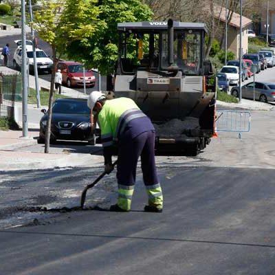 El Ayuntamiento comienza el asfaltado de calles por las de Valdihuertos y Puerto Rico