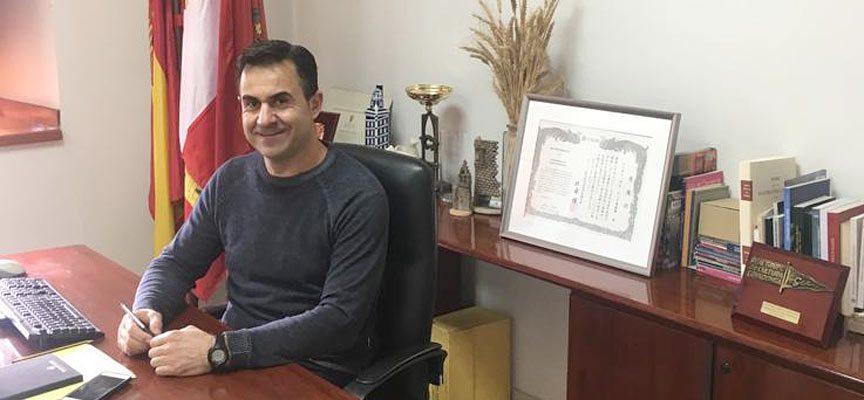 Fernando Velasco, alcalde de Cogeces del Monte.