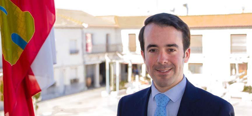 Iván Velasco, alcalde de Montemayor de Pililla.