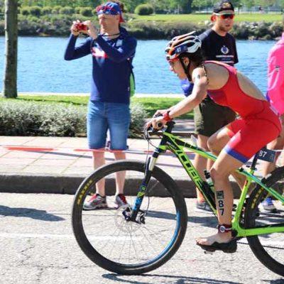 """Marina Muñoz califica de """"increíble"""" su debut en una prueba mundial de triatlón cross"""