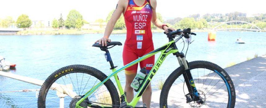 La cuellarana Marina Muñoz ficha por el Triatlón Soriano