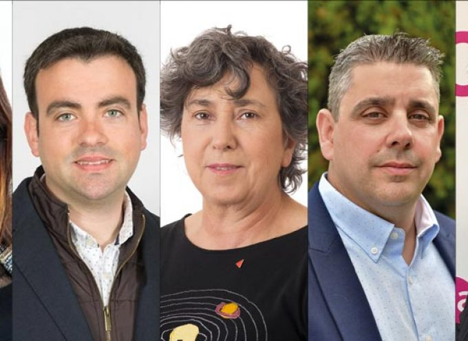 Los cinco candidatos a la Alcaldía expondrán en un debate público sus propuestas para el futuro de Cuéllar