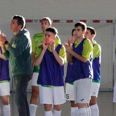 El FS Cuéllar cerró la temporada con un empate frente al Otxartabe