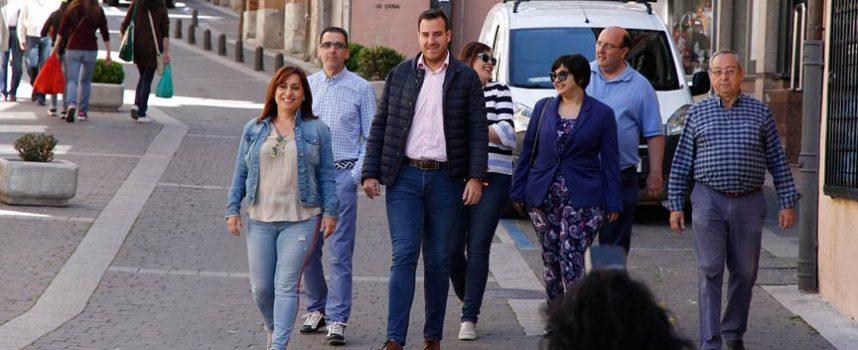 Nuria Fernández anuncia que creará una concejalía de Desarrollo Económico y Empleo si llega a la Alcaldía de Cuéllar