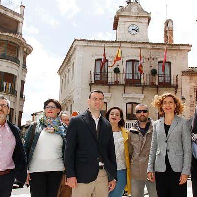 El PSOE incluye en su programa la remodelación integral de los Paseos de San Francisco y la puesta en valor de Las Lomas