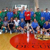 FS Cuéllar Cojalba celebró su 25 aniversario reuniendo en un partido a técnicos y jugadores