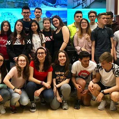 Alumnos del IES Marqués de Lozoya protagonizan un 'Escape Room' para salvar la cuenca del Duero