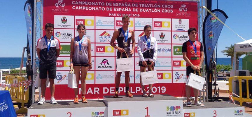Oro para Marina Muñoz en categoría sub-23 en el Campeonato de España de Duatlón Cross y plata en Triatlon Cross