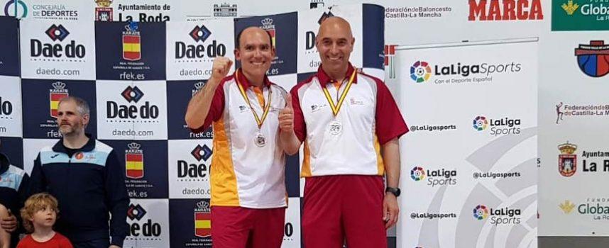 Juan Antonio Velasco y José Luis Herrero, bronce en defensa personal en el Campeonato de España de Karate