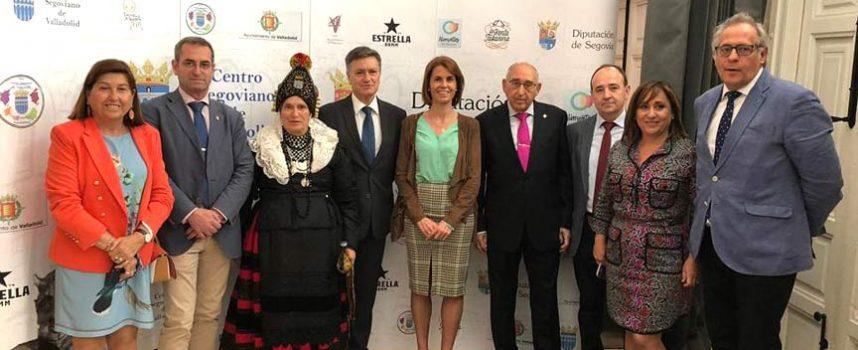Cuéllar representada en los actos del Centenario de la Colonia Segoviana en Valladolid