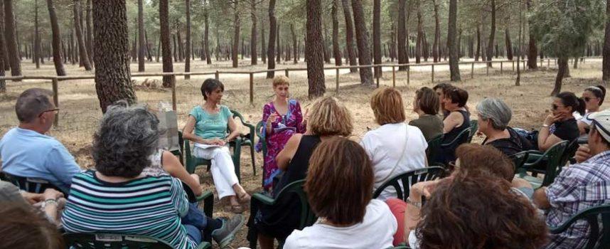 El paraje de San Benito de Gallegos se llenó de cuentos, teatro y música en su XV Feria del Libro