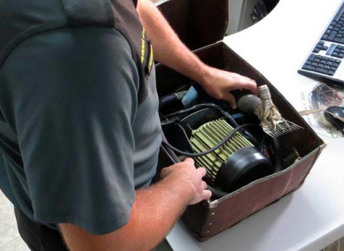 La Guardia Civil investiga a una persona por hurtar una máquina de esquilar en Chañe