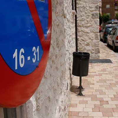 Nueva reordenación de aparcamientos y tráfico en distintas zonas de Cuéllar