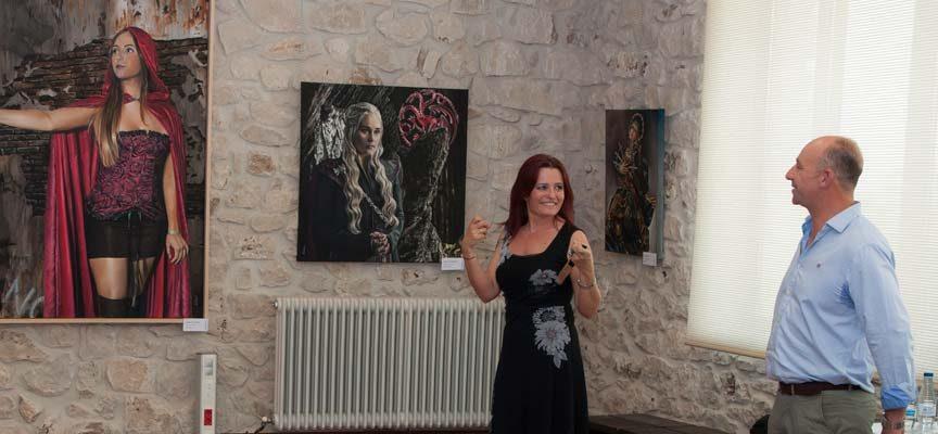 El Museo de la Piedra de Campaspero acoge hasta el domingo `Parte de mí´ de Helen Fernández