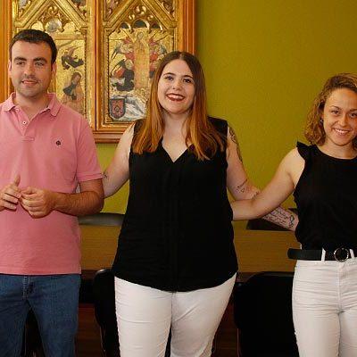 Sara Pesquera y Lucía Díez acompañarán a Sara Zarzuela como damas en las fiestas de 2019
