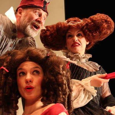 """Teatro Corsario actúa esta noche en el Castillo con sus `Clásicos cómicos"""""""