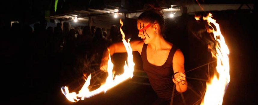 El fuego será el protagonista en la clausura de `Cuéllar Mudéjar´