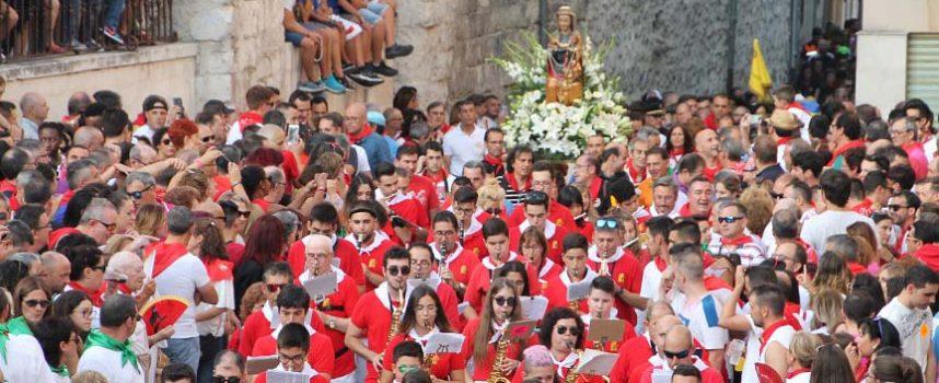 Emocionante pregón de la Banda de Música en el arranque de las fiestas de Cuéllar