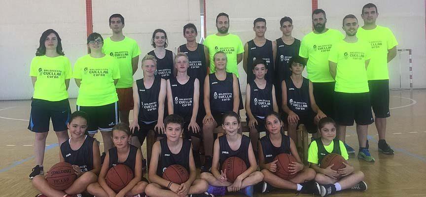 Baloncesto Cuéllar abre el lunes su campus de verano