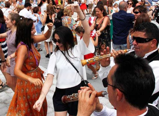 Campaspero se viste de gala para festejar a su patrón Santo Domingo de Guzmán