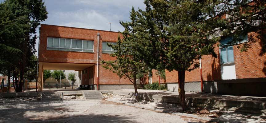 Imagen del colegio San Gil de Cuéllar