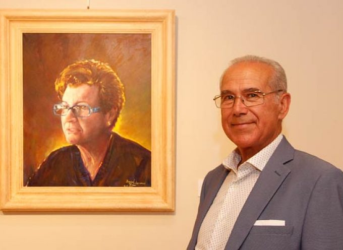 Isaías Salamanca muestra por primera vez sus pinturas en las Tenerías