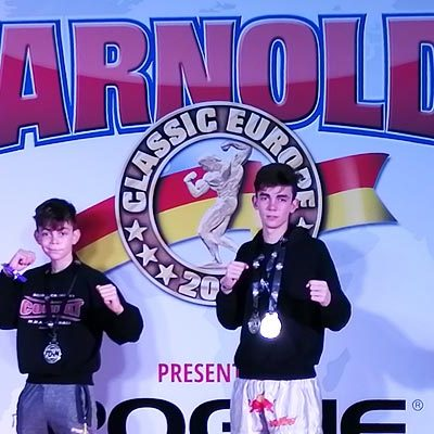 Alain y Hugo González suman cinco medallas en la Arnold Classic Europa