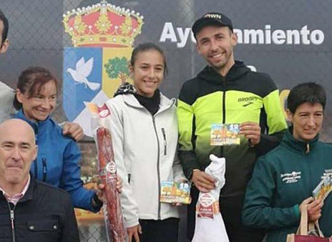 Marina Muñoz subió a lo más alto del podio en la V Carrera Pedestre `Descubre el Camino´ en Espirdo