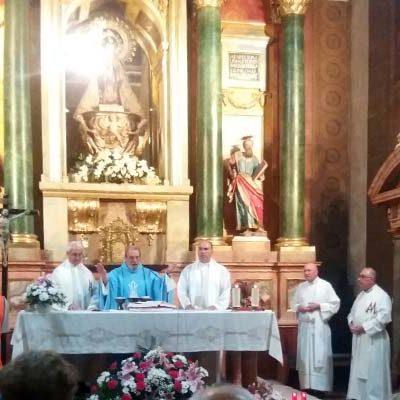 La procesión de la Virgen de El Henar se traslada al domingo 22 de septiembre a causa de la lluvia