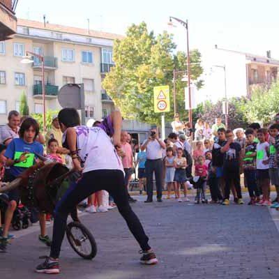 EhToro cerró con sus carretones la programación de San Miguel en Cuéllar