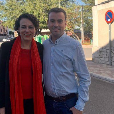El alcalde de Cuéllar traslada a la Ministra de Trabajo la necesidad de oportunidades en la villa