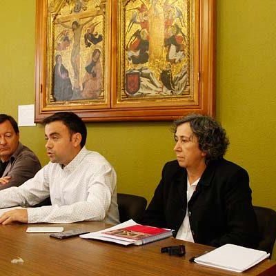 """PSOE e IU consideran que sus primeros 100 días de gobierno han sido """"productivos para Cuéllar"""""""