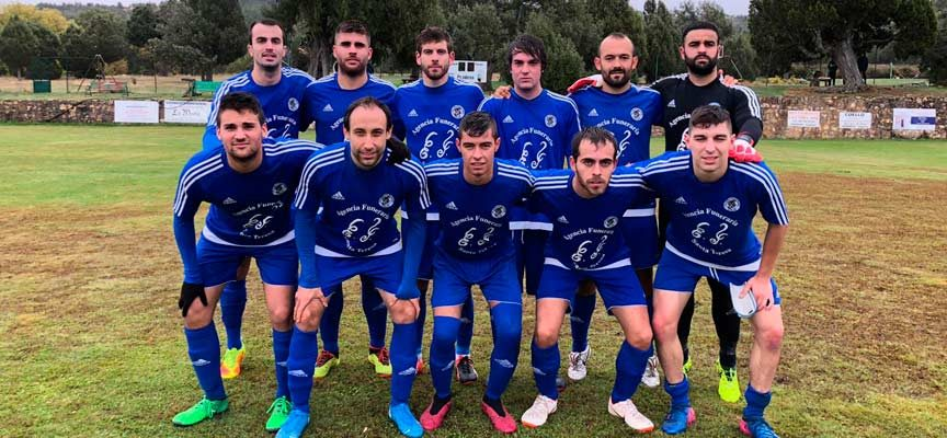 Diego y Frutos ponen los goles en el triunfo del CD Cuéllar en Prádena (0-2)
