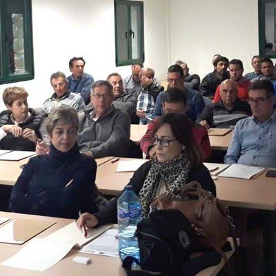 Unión de Campesinos impartió en Sanchonuño una jornada sobre ahorro de agua y energía en cultivos de regadío