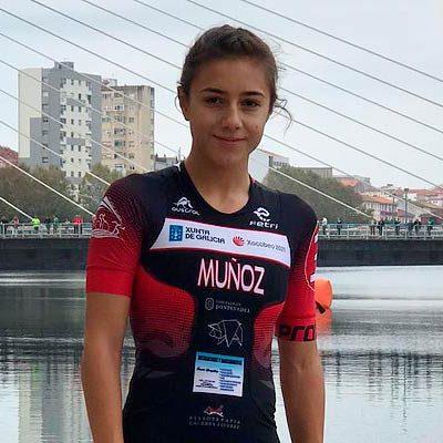 Marina Muñoz, a tres segundos de la final en el ProTour de la Federación Española de Triatlón