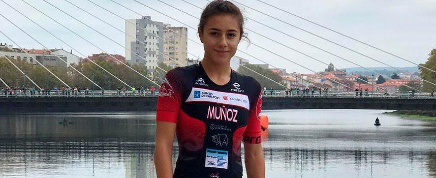 La cuellarana Marina Muñoz, elegida Mejor Deportista promesa de Castilla y León en los Premios Pódium