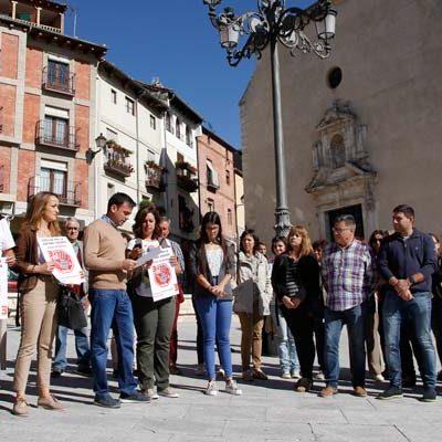 La comarca para y suma su silencio en favor de la España Vaciada