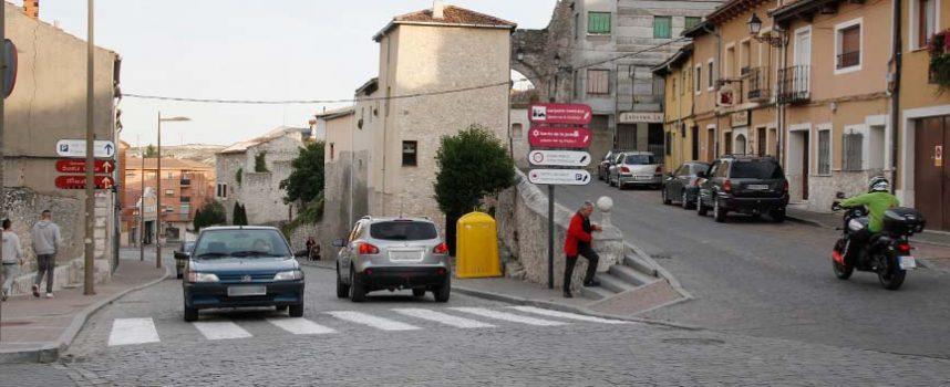 Tráfico proyecta un paso elevado en la plaza de San Andrés