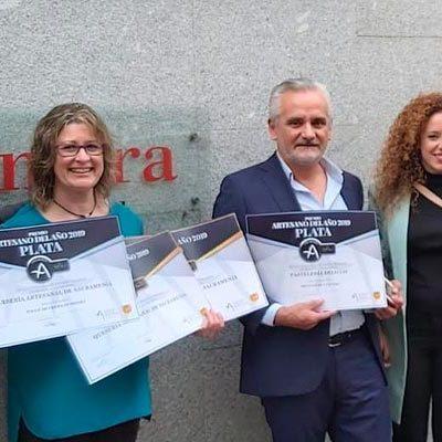 Medalla de plata para las Delicias de Cuéllar y dos oros y una plata para Quesería de Sacramenia en los Premios Artesanos 2019