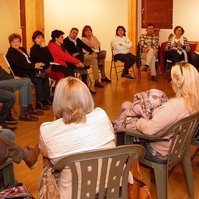 El Ayuntamiento y la Plataforma pro Teatro Auditorio en Cuéllar crean una comisión de trabajo