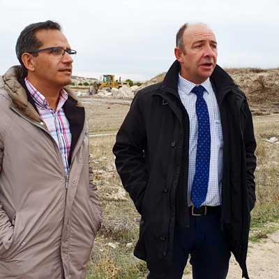 El alcalde de Campaspero trasladó al delegado territorial las necesidades del municipio