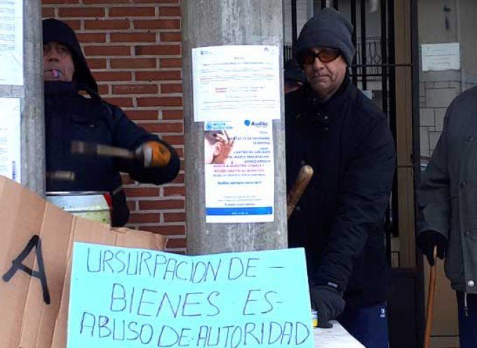 Los vecinos de Gomezserracín mantienen sus protestas y anuncian una manifestación el 1 de diciembre