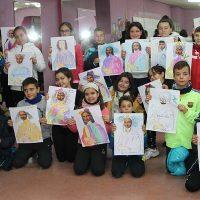 Los escolares reinterpretan la Gioconda en el V Centenario de la muerte de Leonardo Da Vinci