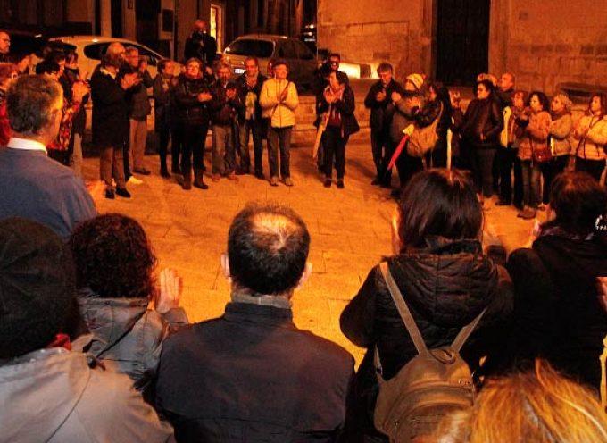 El Colectivo 8M se sumó a las concentraciones de repulsa a la sentencia de los violadores de Manresa