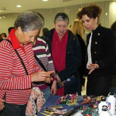 Fundación Personas expone los trabajos artesanos de sus usuarios en la sala Alfonsa de la Torre